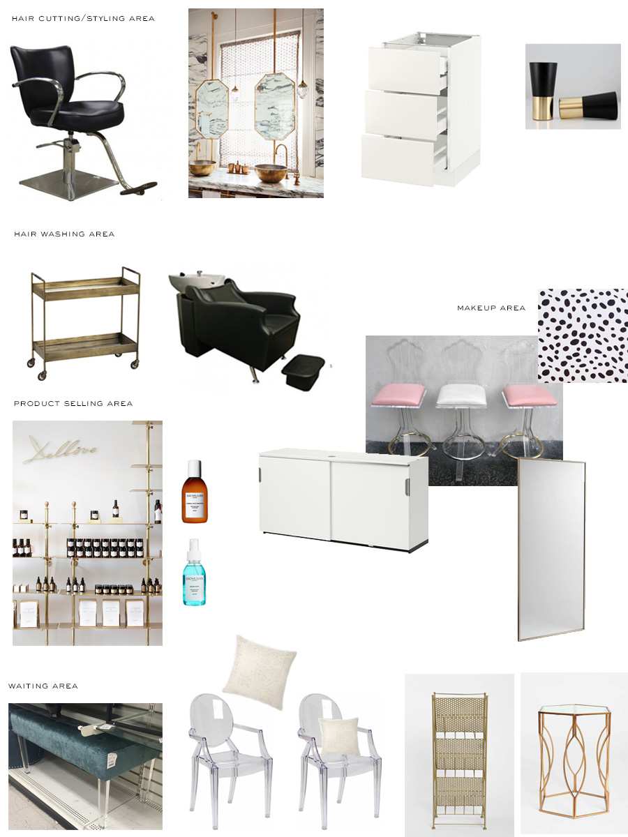 Salon Inspiration Board